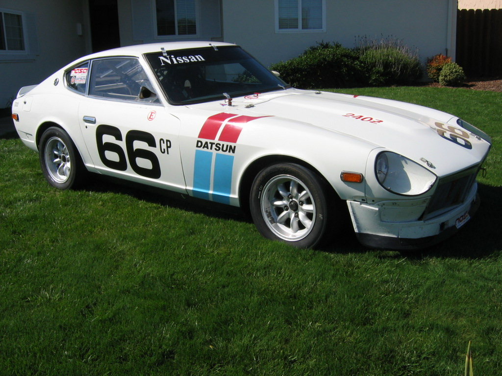 Editors 240Z Vintage CP race car for sale  OLD  RACING ON THE
